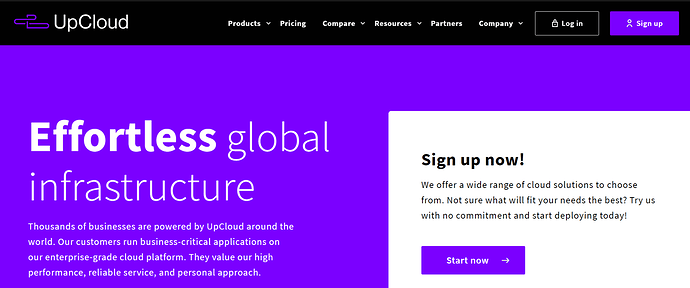 Free VPS server hosting from UpCloud.com (5 months FREE)