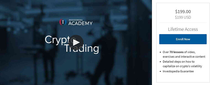 Crypto Trading Course By Investopedia Academy