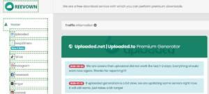 Reevown Cloud free Premium Link Generator